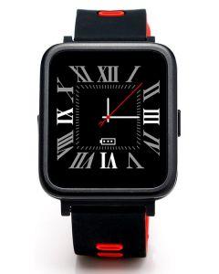 Smartwatch E-Boda Smart Time 350  Apelare Agenda SMS Notificari Monitorizare somn Anti-Pierdere Pedometru, Rosu