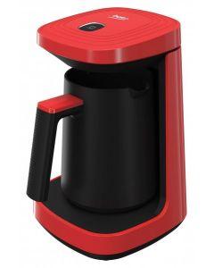 Aparat de cafea turceasca TKM2940K Beko, 600 W, 260 ml, Rosu/Negru
