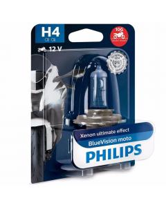 Bec moto Blue Vision h4 12v Philips