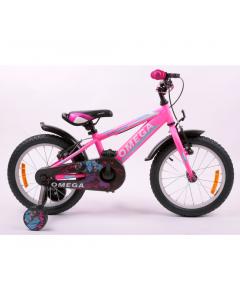 "Bicicleta copii 16"" Master Omega, roz"