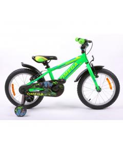 "Bicicleta copii 16"" Master Omega, verde"