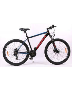 """Bicicleta Omega Slycan 27.5"""", negru-portocaliu"""