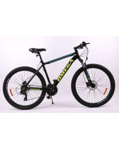 "Bicicleta Omega Slycan 27.5"", negru/albastru/galben"
