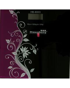 Cantar digital HB6003 Hausberg, 150 kg, Ecran LCD, Indicator baterie descarcata