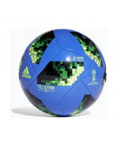 Minge fotbal Adidas World Cup, albastru-negru-verde