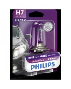 Bec h7 v plus 12v 55w Philips
