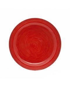 Farfurie desert diametru 20 cm, Stonemania, red