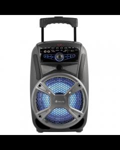 Sistem audio Wildmambo NGS, 35W, Bluetooth, LED, SD, USB, FM, Aux, Negru