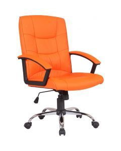 Scaun directorial, portocaliu