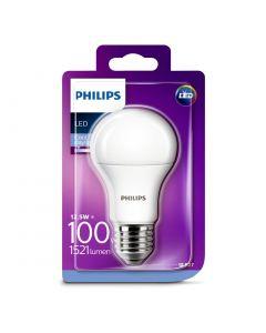 Bec Philips Led A60 100W E27 MAT 6500K