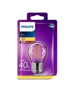 Bec Philips Led P45CL 40W E27 2700K