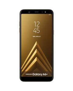 """Smartphone A6 Plus (2018) Samsung, 32 GB, 16 megapixeli, 6"""", Auriu"""