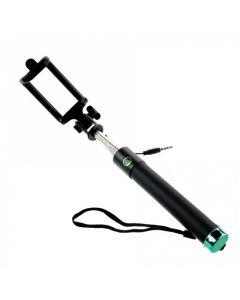Selfie Stick Premium M76CF Tellur , cu fir, Verde