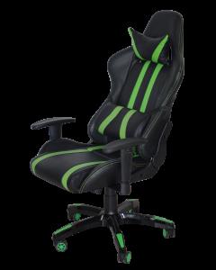 Scaun gaming GR168 Verde/Negru