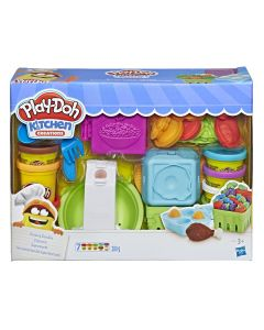 Set Play-Doh Bunatati de la supermarket