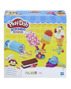 "Set Play-Doh  ""Fabrica de  inghetata"""