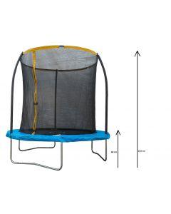 Trambulina fixa, diametru 244 cm, Carrefour