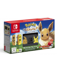 Consola Nintendo Switch  & Pokemon Lets Go Eevee Bundle