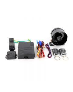 Alarma Auto Carguard CAR001 cu 2 telecomenzi, senzor de shock reglabil