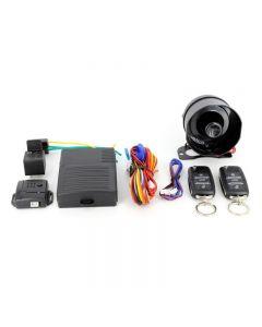 Alarma Auto Carguard CAR002 cu 2 telecomenzi, senzor de shock reglabil