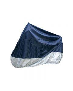 Husa Prelata Scuter pentru Exterior, Impermeabila, Lungime 205 cm Albastru / Gri