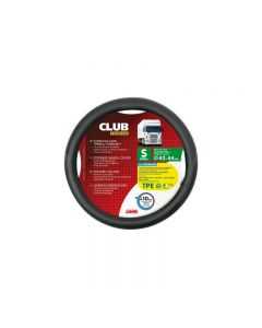 Husa volan Lampa Club Premium, 42/44 cm, Negru