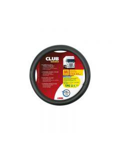 Husa volan Lampa Club Premium, 44/46 cm, Negru