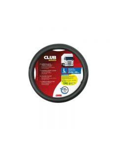 Husa volan premium CLUB, negru 46-48 cm, Lampa