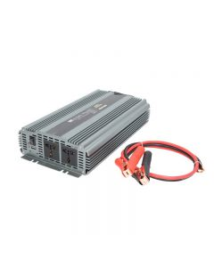Invertor auto WHITENERGY DC 24V-AC 230V 2000W + USB