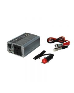 Invertor auto WHITENERGY DC 24V-AC 230V 350W + USB