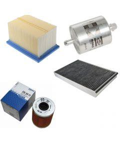 Pachet filtre revizie AUDI Q5 2.0 TDI quattro 170 cai, filtre Mahle Original