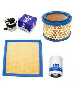 Pachet filtre revizie AUDI A3 Cabriolet 2.0 TFSI 200 cai, filtre Ufi