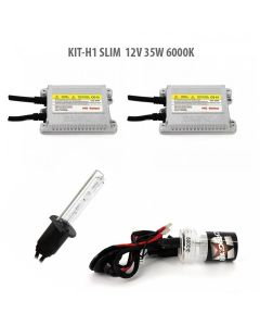 Kit xenon H1 SLIM 12V 35W 6000K