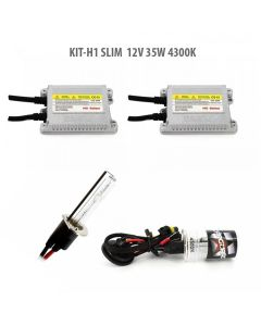 Kit xenon H1 SLIM 12V 35W 4300K