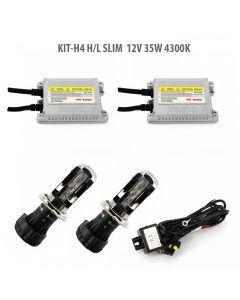 Kit xenon H4 H/L SLIM 12V 35W 4300K