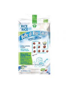 Bilute de orez cu cacao fara zahar Bio, fara gluten
