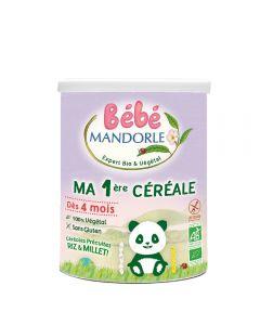 Cereale pentru bebeluși - de la 4 luni, fara gluten, fara lactoza, 400g