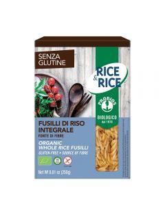 Fusilli de orez integral BIO- fara gluten 250g