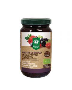 Gem fructe de padure fara zahar, fara pectina 220g