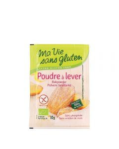 Praf de copt bio - garantat fara gluten, fara amidon de porumb 4x10g