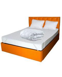 Saltea Pegas Comfort Flex 160x200x20 +2 perne microfibra 50x70 +Husa hipoalergenica 160x200 + pilota microfibra vara 180x200