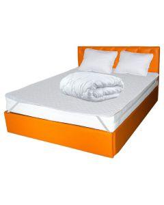 Set Avantaj Saltea TERRA Standard Comfort 140x200x26 + 2 perne 50x70 + Husa hipoalergenica + Pilota iarna microfibra 180x200