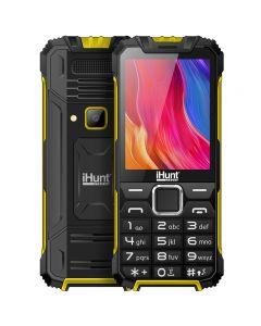 Telefon mobil iHunt i1 3G 2020, 3G, DualSIM, Radio FM, Bluetooth, Lanterna, Camera 2MP, Baterie 1450mAh, Yellow