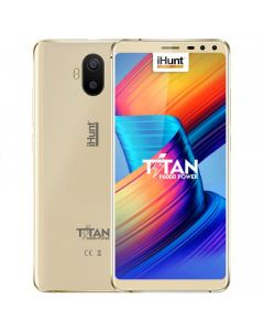 Telefon mobil iHunt Titan P6000 Power, Dual SIM, 5.5-inch, DualCamera 13MP, 2GB RAM, 16GB, 5000mAh, Gold