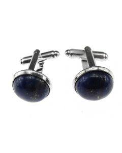 Butoni camasa cu lapis lazuli 12 mm