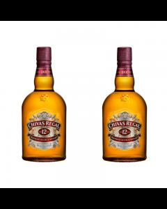 Whisky Chivas Regal 12 ani 40% set doua sticle - 700 ml