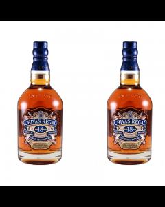 Whisky Chivas Regal 18 ani 40% set doua sticle - 700 ml