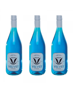 Vin albastru Frizzante Azul Velvet de Vendome, Bautura pe baza de vin, set trei sticle de 750ml