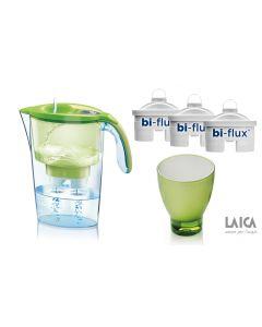 PROMO: Cana Laica + 3 filtre + pahar de colectie, verde
