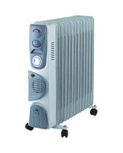 Calorifer electric cu ulei NEO OR-2013FT, 2000W, 13 elementi, 3 trepte de putere, Turbo Ventilatie, Timer, Termostat